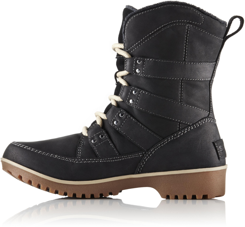 3b09d854c14 Sorel Meadow Lace Premium Støvler Damer sort | Find outdoortøj, sko ...